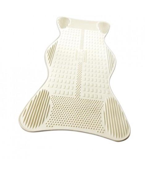 Tapis de bain AIRGO NL-785-500 - Avec zones de massage - Lavable en machine - 400 ventouses performantes - Anti-microbes