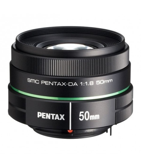 PENTAX Objectif SMC DA 50mm f/1.8 - pour Reflex