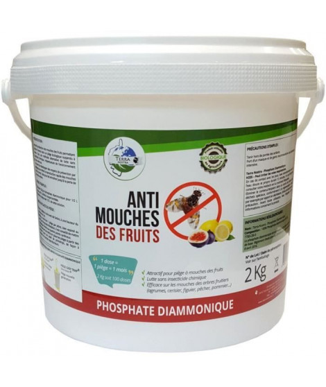 Mouches des fruits - Seau 2 kg