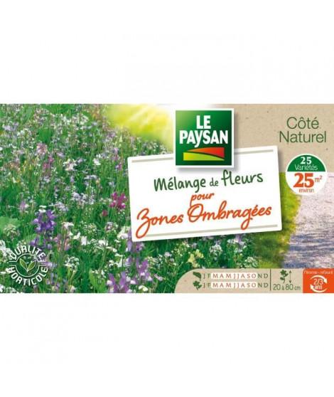 LE PAYSAN Mélange de fleurs pour zones ombragées - 25 variétés