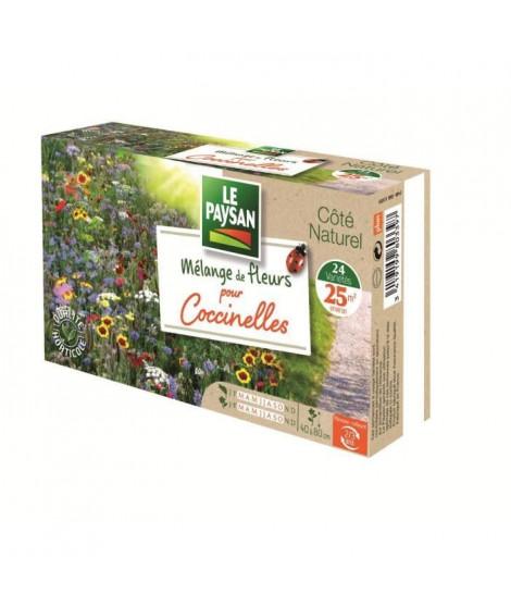 LE PAYSAN Mélange 24 variétés de fleurs pour coccinelles