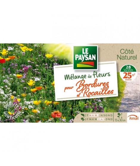 LE PAYSAN Mélange de fleurs pour bordures et rocailles - 15 a 30 cm