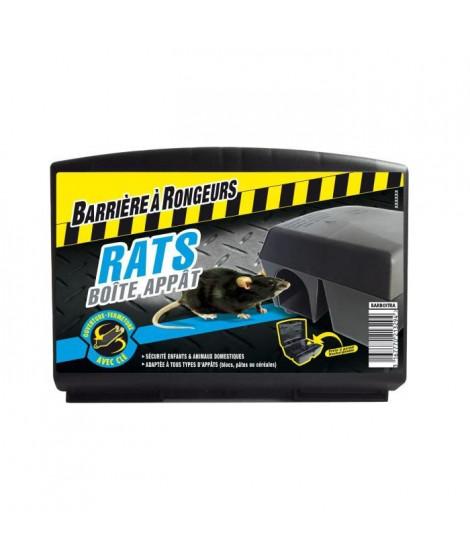 BARRIERE A RONGEURS Boîte appât Rats - 1 boîte d'appâtage