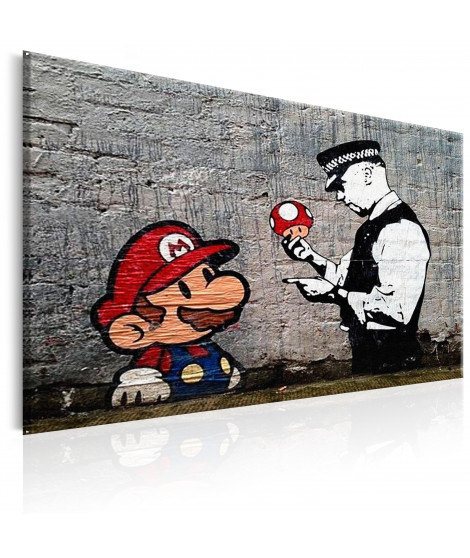 Tableau - Mario and Cop by Banksy