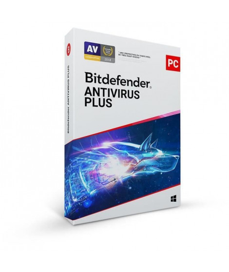 Bitdefender Antivirus Plus - 1 PC - 1 an