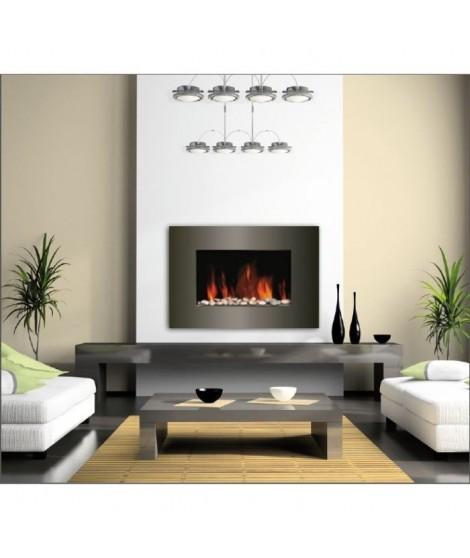 CARRERA Luna 2000 watts Cheminée électrique décorative et chauffage d'appoint