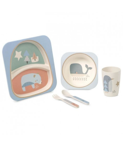 JANE Set repas 5 pieces Organic