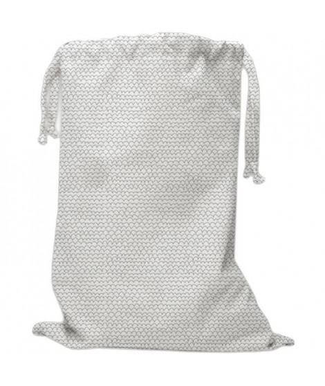 TODAY Sac en coton imprimé - 60 x 70 cm