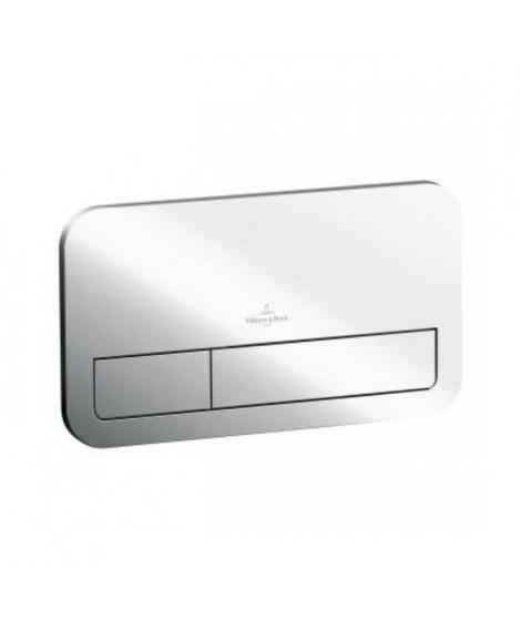 VILLEROY & BOCH Plaque de déclenchement ViConnect E200 chromé brillant