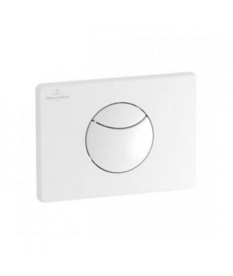 VILLEROY & BOCH Plaque de déclenchement ViConnect E100 blanc