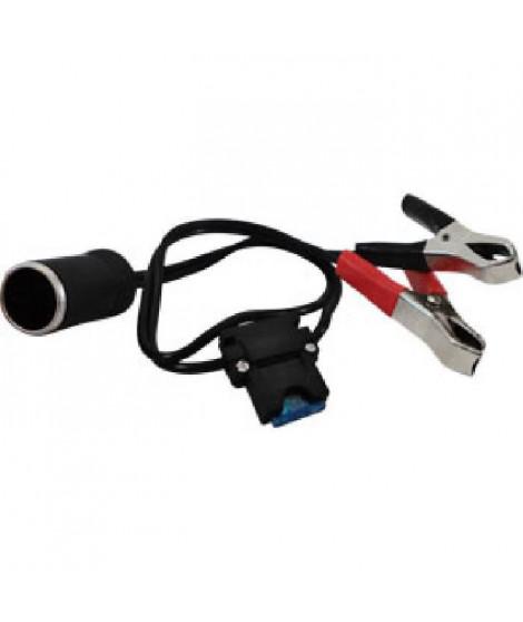 Adaptateur d'alimentation a pinces avec fusible - 12 V / 15A