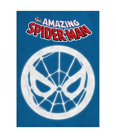 Poster métallique Marvel Emblems : Spider Man