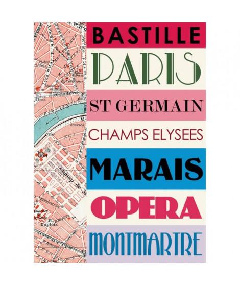 Affiche papier -  Paris bastille  - Braun Studio  -  50x70 cm
