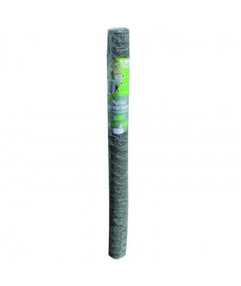 Maille galva hex 25mm - 1,5x5m