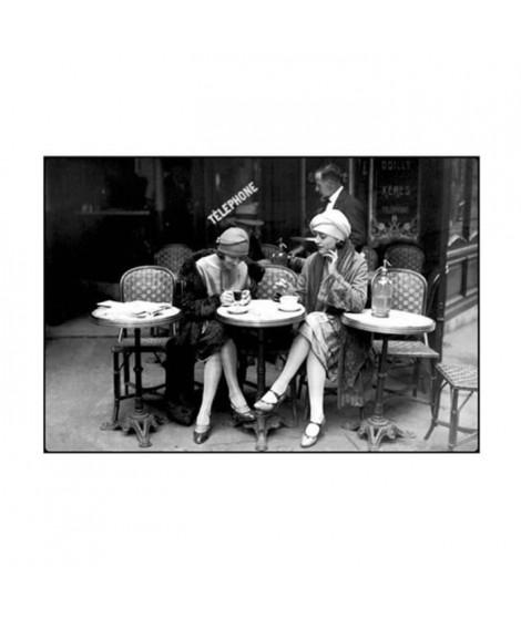 Affiche papier -  Café et Cigarette, Paris, 1925  - Roger-Viollet - 60x80 cm