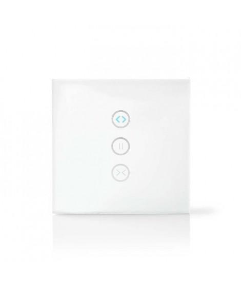 NEDIS Interrupteur Mural Intelligent WiFi - Contrôleur de rideaux, volets ou stores