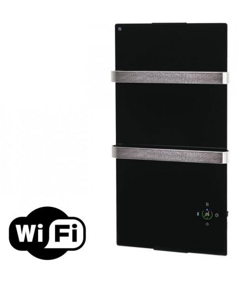 PURELINE ZAFIR V600T B Wifi control- Radiateur électrique de salle de bains - Noir