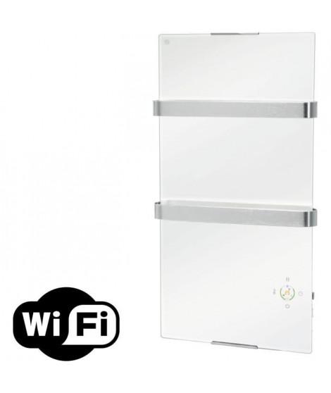 PURELINE ZAFIR V600T B Wifi control- Radiateur électrique de salle de bains - Blanc