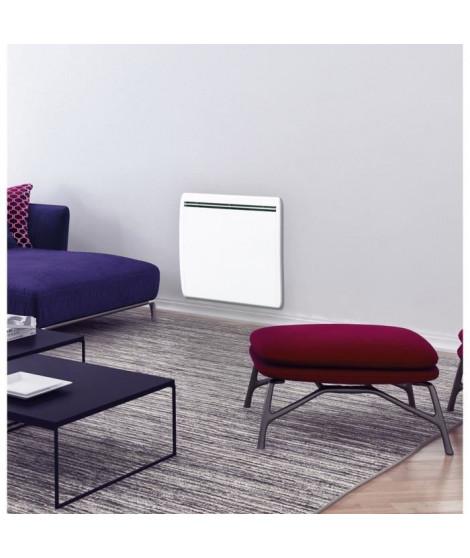 CONCORDE Ecodou 1000 watts Radiateur électrique a inertie Fonte + film chauffant - Entierement programmable  LCD - 100 % France
