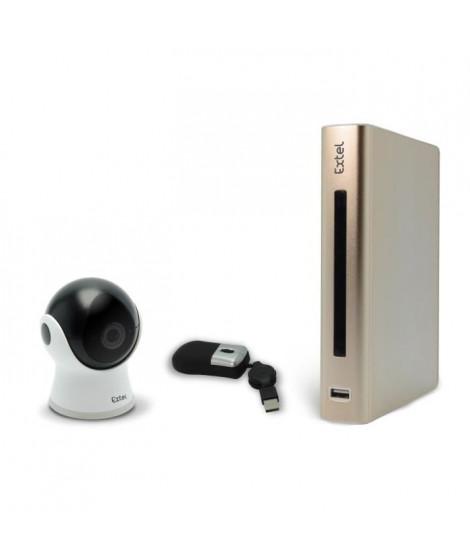 EXTEL Enregistreur vidéo de surveillance IP eWatch 900 Full HD 1080p 4 canaux