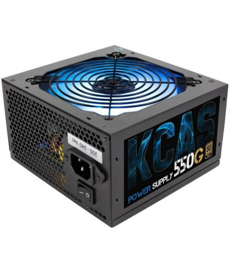 AEROCOOL Alimentation PC KCAS-550G - 550W - 80PLUS Gold - RGB