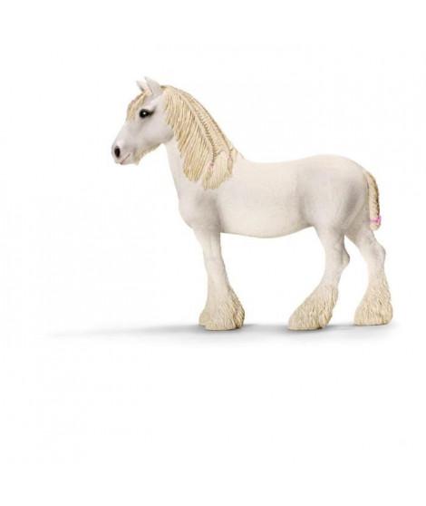 Schleich Figurine 13735 - Animal de la ferme - Jument Shire