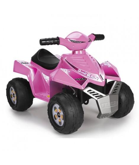FEBER - Quad Racy Pink - Véhicule Electrique pour Enfant 6 Volts