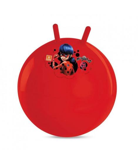 MIRACULOUS - Ballon Sauteur - 50 cm - Jeu de Plein Air - Fille - A partir de 3 ans.