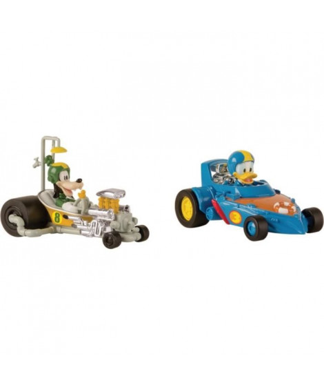 MICKEY ROADSTER RACERS Voitures Donald & Pluto Pack Mickey & Ses Amis Top Départ