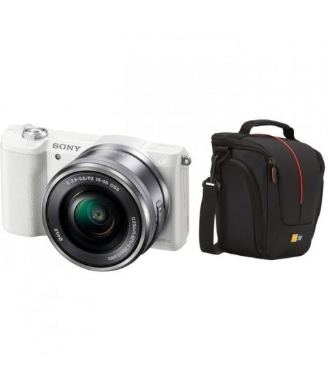 Pack SONY ILCE-5100LW Appareil photo numérique hybride + Sacoche