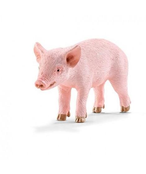 Schleich Figurine 13783 - Animal de la ferme - Cochonnet, debout