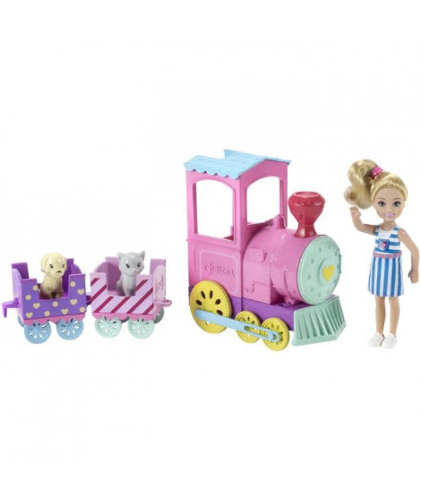 BARBIE - Cheslea Et Le Train Des Animaux