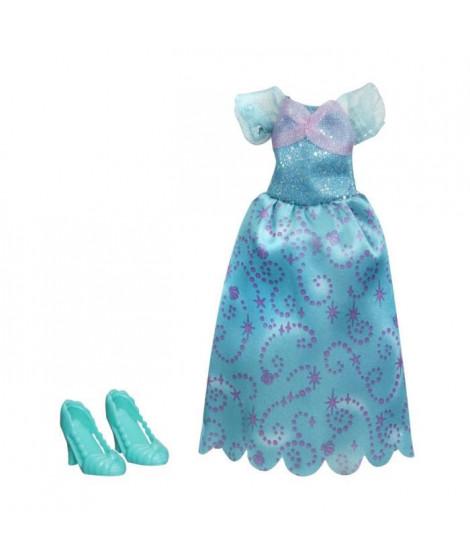 DISNEY PRINCESSES - Robe et Chaussures VERT - Vetement pour Poupées 30cm