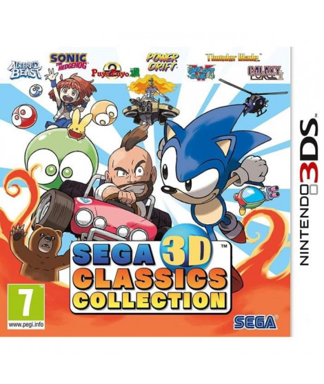 Sega 3D Classics Collection Jeu 3DS