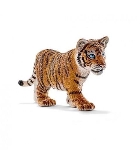 Schleich Figurine 14730 - Animal de la savane - Bébé tigre du Bengale