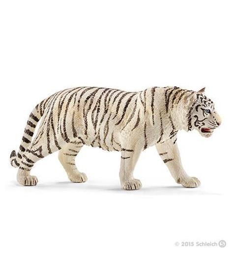 Schleich Figurine 14731 - Animal de la savane - Tigre blanc mâle