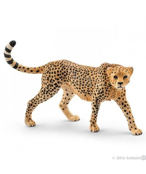 Schleich Figurine 14746 - Animal de la savane - Guépard femelle