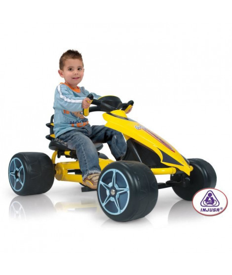 INJUJA Go Kart a Pédales enfant Arrow