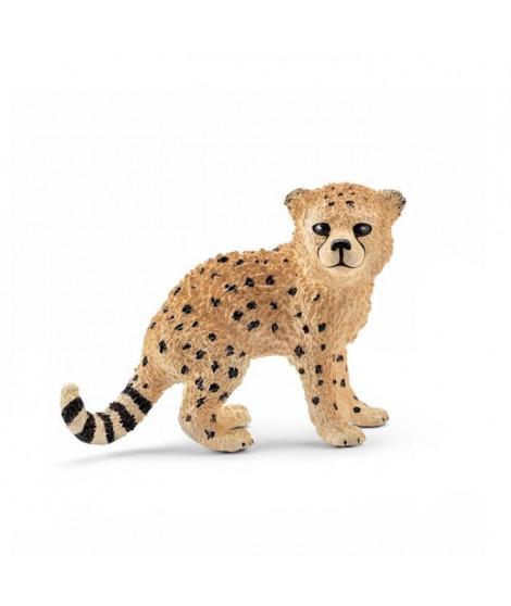 Schleich Figurine 14747 - Animal de la savane - Bébé guépard