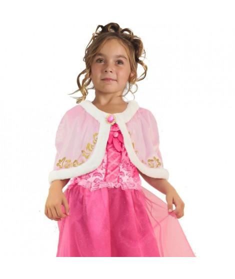 CESAR Cape Velours - Rose - Pour Enfant 5 a 10 ans