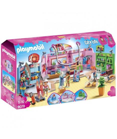 PLAYMOBIL 9078 - City Life - La Galerie Marchande