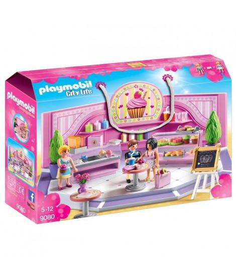 PLAYMOBIL 9080 - City Life - Le Café Cupcake