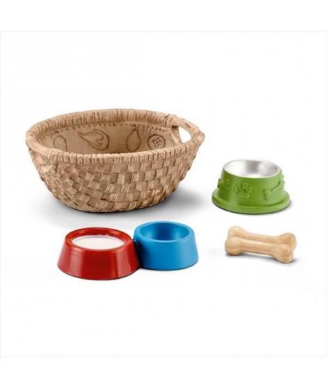 SCHLEICH - Figurine 42293 Nourriture pour chiens et chats
