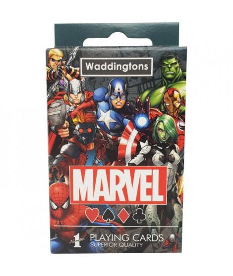 WADDINGTONS Jeu de 54 cartes Marvel
