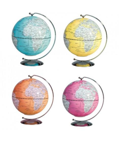 SIGN Mini globe lumineux suspendu Déco Ø 13 cm - 4 coloris assortis