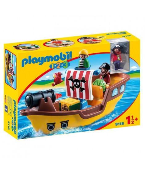 PLAYMOBIL 1.2.3. - 9118 - Bâteau de Pirates
