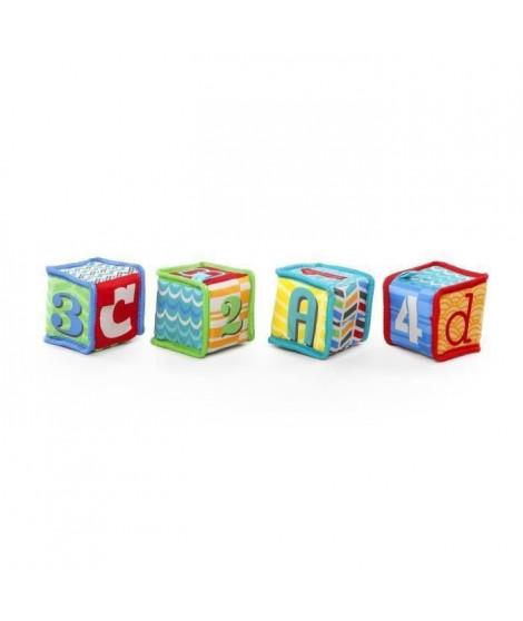 BRIGHT STARTS Cubes Grab & Stack - Jeu d'Eveil