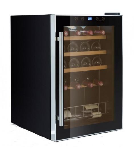 CAVISS- S119CBE4 - Cave de service-19 bouteilles-19 bouteilles-Thermostat-Porte verre-Systeme anti vibration-Eclairage LED