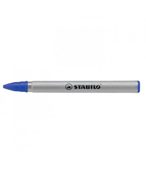 STABILO Boîte de 3 Recharges Easyoriginal - Encre Bleue effaçable 0,3