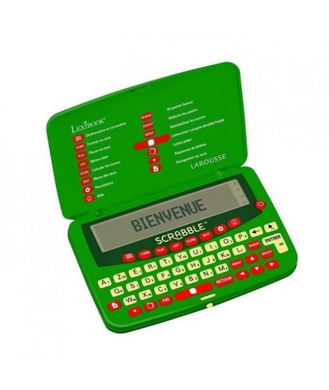 LEXIBOOK - Dictionnaire Electronique Officiel du Jeu de SCRABBLE Deluxe - L'officiel du Scrabble - Larousse